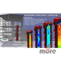 Návrh konceptu experimentálního spalovacího zařízení